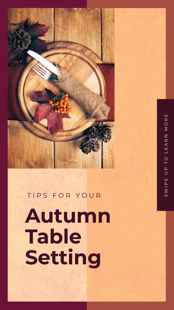 Festive formal dinner table setting — Modelo de projeto