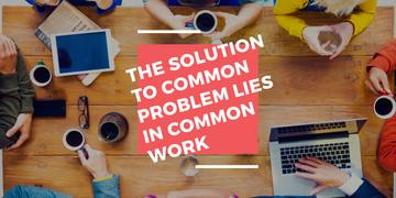 Citation about the solution to common problem