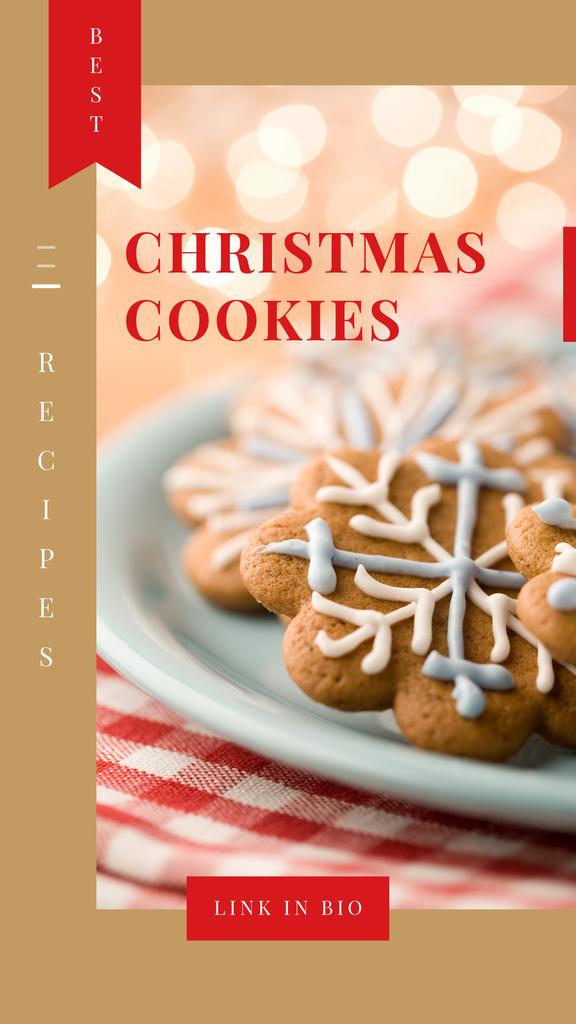 Christmas ginger cookies — Modelo de projeto
