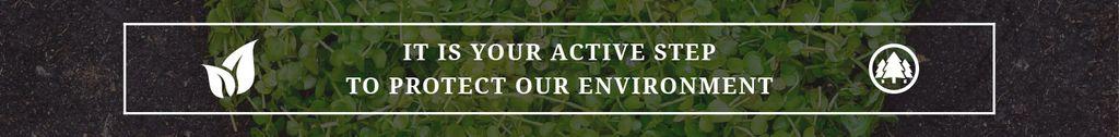 Citation about protect environment — ein Design erstellen