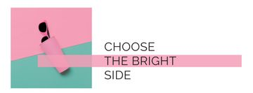 Choose the bright side poster