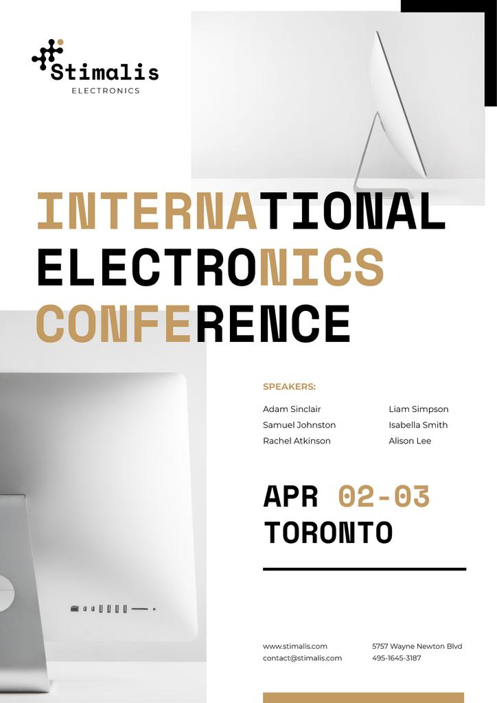 Electronics Conference Annoucement — Створити дизайн