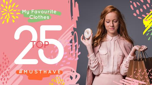 Fashion Ad Girl In Stylish Clothes In Pink