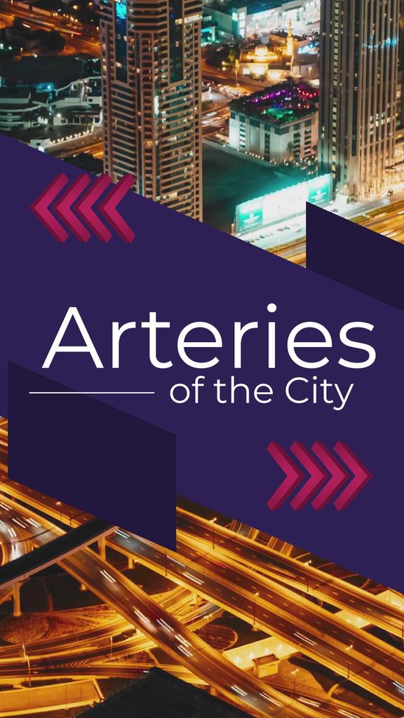 Night City Traffic Lights — Maak een ontwerp