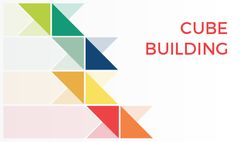 Constructor Services Offer with Colorful Triangles