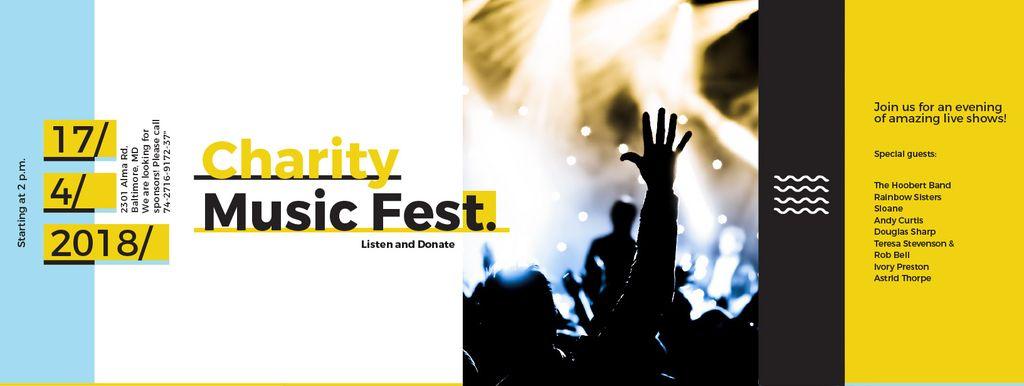 Charity Music Fest — Create a Design