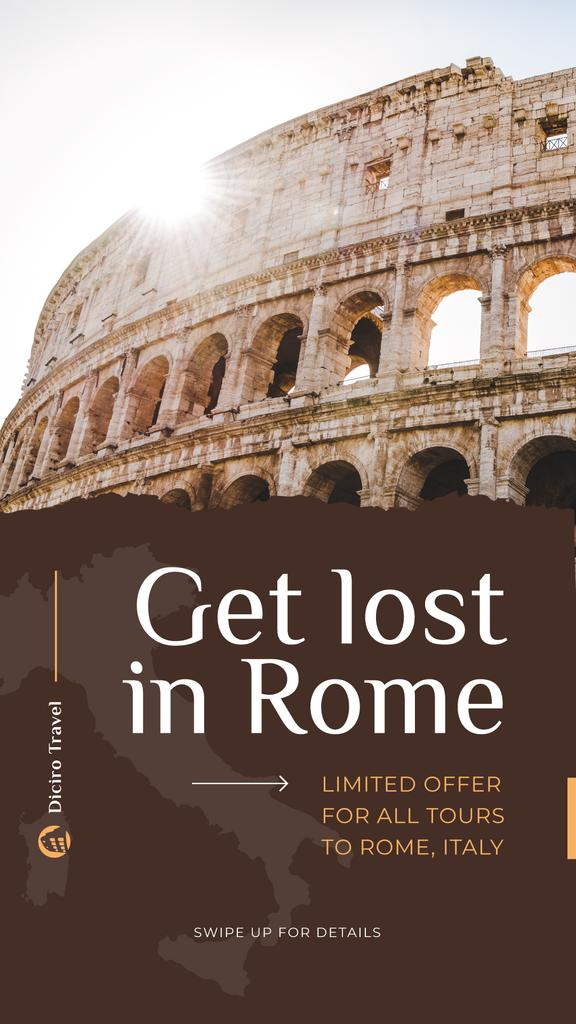 Special Tour Offer to Rome — ein Design erstellen