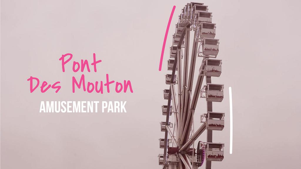 Rotating Ferris wheel — ein Design erstellen