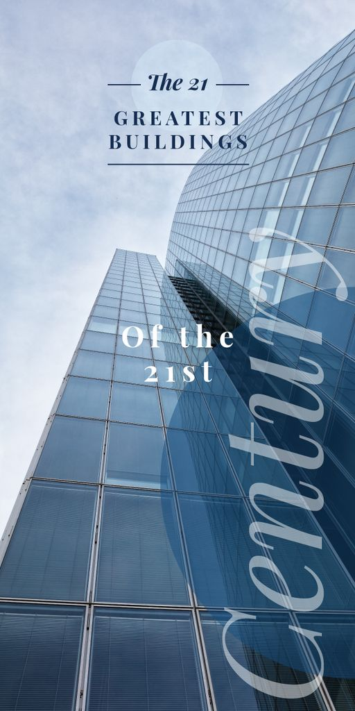 Modern glass building — Crear un diseño