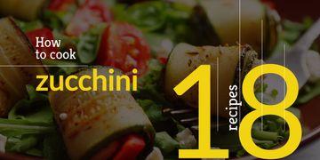 recipe book for preparing zucchini