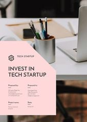 Tech Startup Investment offer