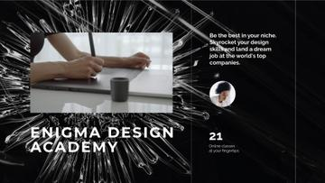 Man drawing blueprints in Design Academy