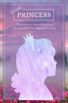 little princess musical poster