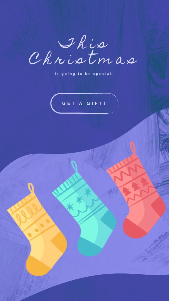 Elves in Christmas socks — Create a Design