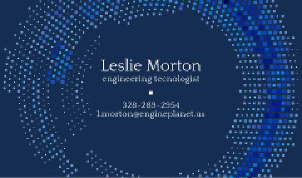 Modern business card — Créer un visuel