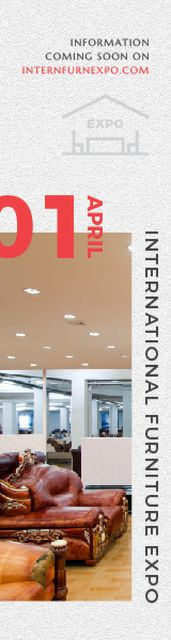 International Furniture Expo Skyscraper – шаблон для дизайну