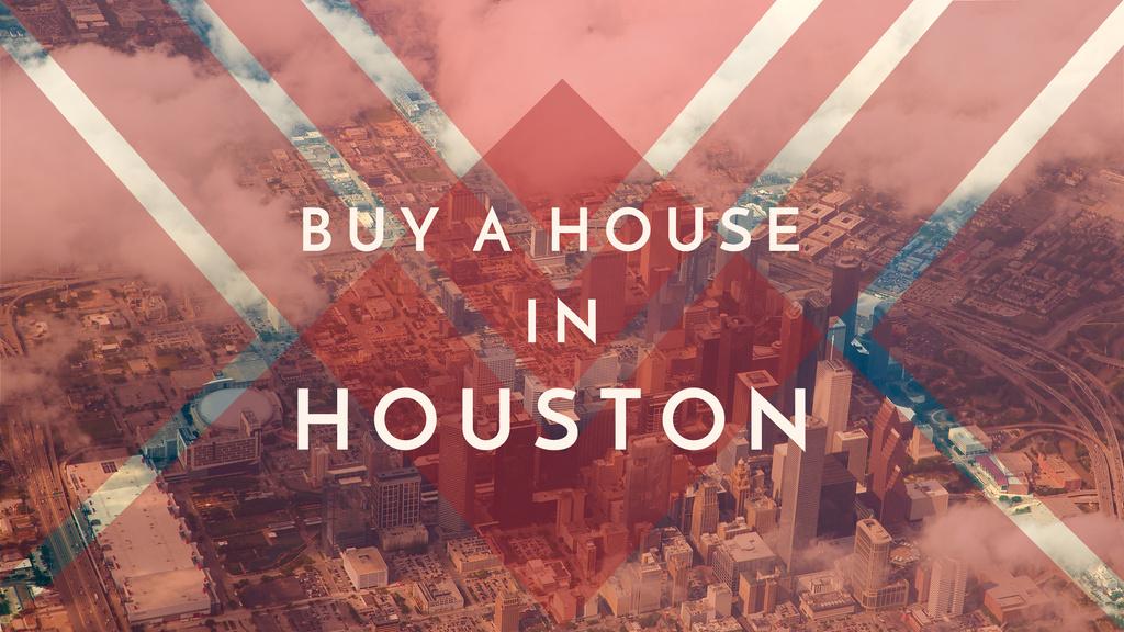 Houston Real Estate Ad City View   Youtube Channel Art — Crea un design