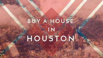 Houston Real Estate Ad City View | Youtube Channel Art