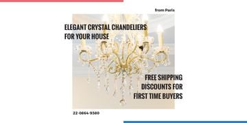 Elegant crystal chandeliers shop