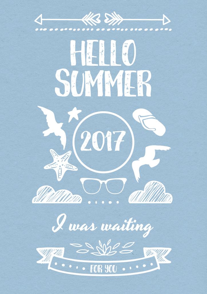 Hello Summer Poster Create A Design
