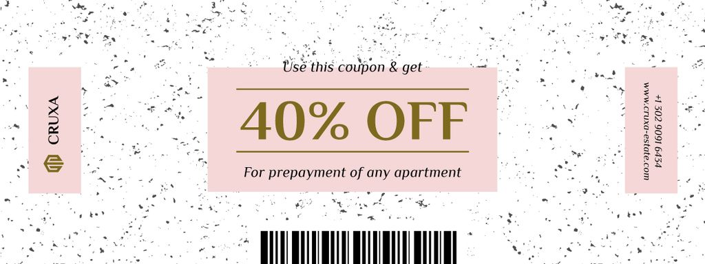 Discount Offer on Prepayment of Apartment — Create a Design