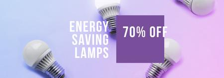Template di design Energy Saving Lamps sale Tumblr