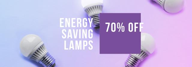 Energy Saving Lamps sale Tumblr – шаблон для дизайна