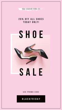 Fashion Sale with Female fashionable shoes