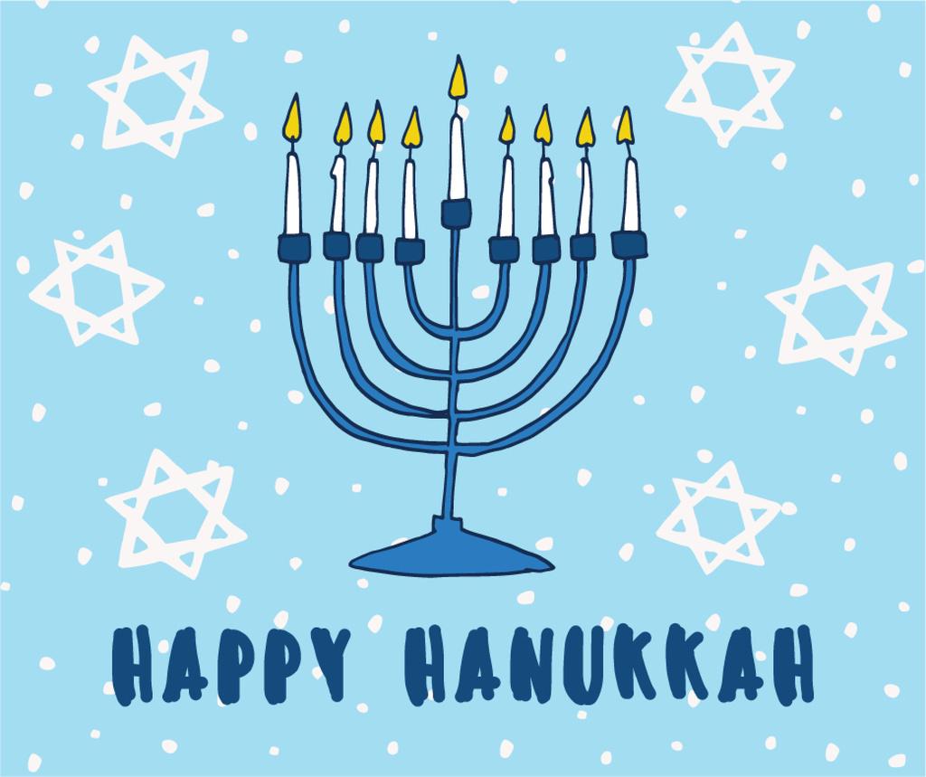 Happy Hanukkah Greeting Card Create A Design