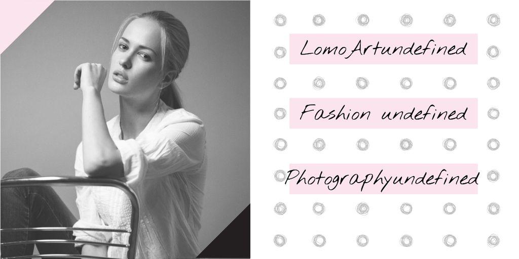 Fashion photography banner — Створити дизайн