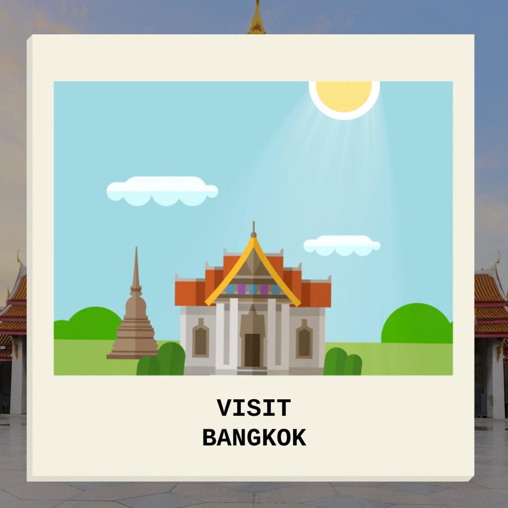 Visit Famous authentic Bangkok — Создать дизайн