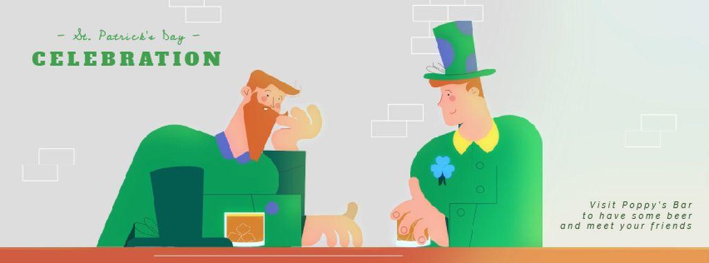 Celebrating Saint Patrick's Day  — Создать дизайн
