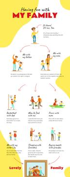 List infographics about having fun with Family