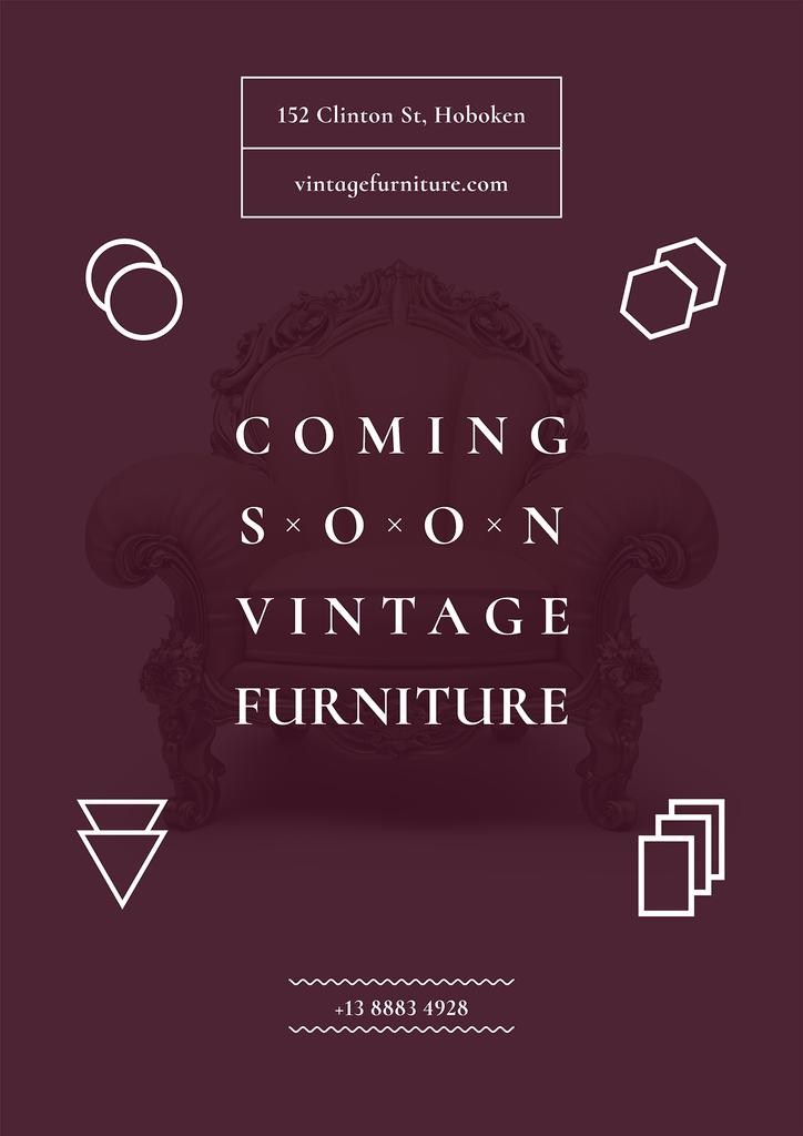 Vintage furniture shop Opening — Create a Design