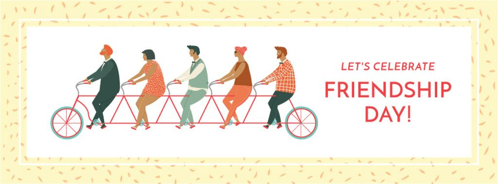 Friendship day greeting card — Crea un design