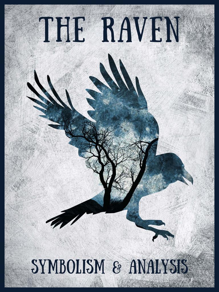 Artistic Raven Silhouette — Maak een ontwerp