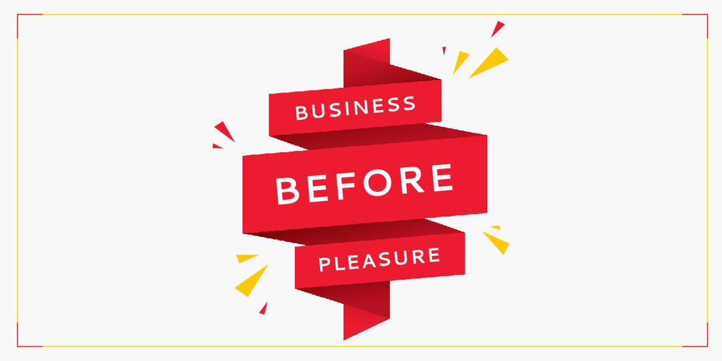 Business before pleasure — Maak een ontwerp