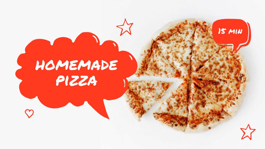 Homemade Pizza recipe — Создать дизайн