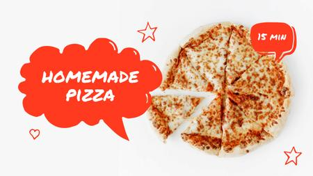 Template di design Homemade Pizza recipe Youtube Thumbnail