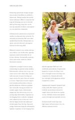 Caring for Elderly People Hands of Senior Man