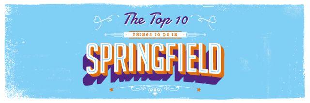 Plantilla de diseño de Springfield Travel Guide with Inscription in Blue Email header