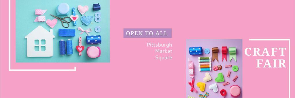 Craft fair in Pittsburgh — Maak een ontwerp