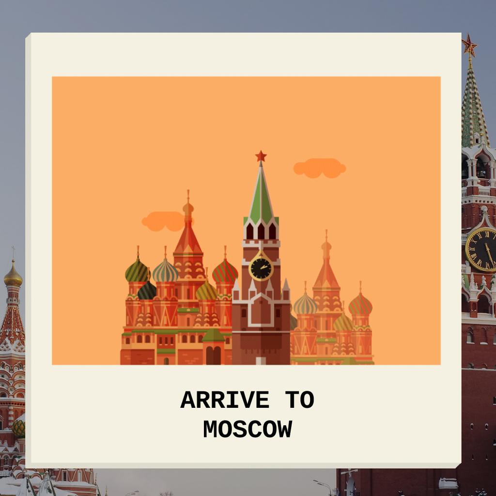 Moscow Famous Travel Spot — Modelo de projeto