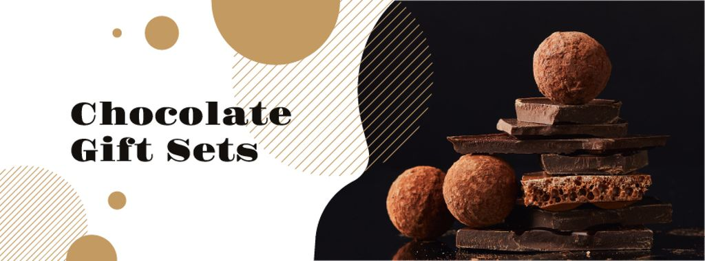 Dark sweet Chocolate pieces — Создать дизайн