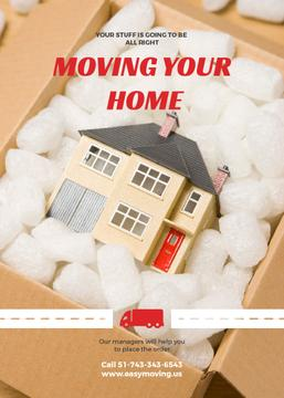 Moving your home advertisement