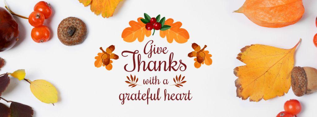 Thanksgiving day Bright Greeting — Créer un visuel