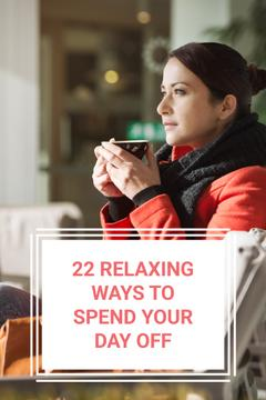 22 relaxing ways to spend your day off poster