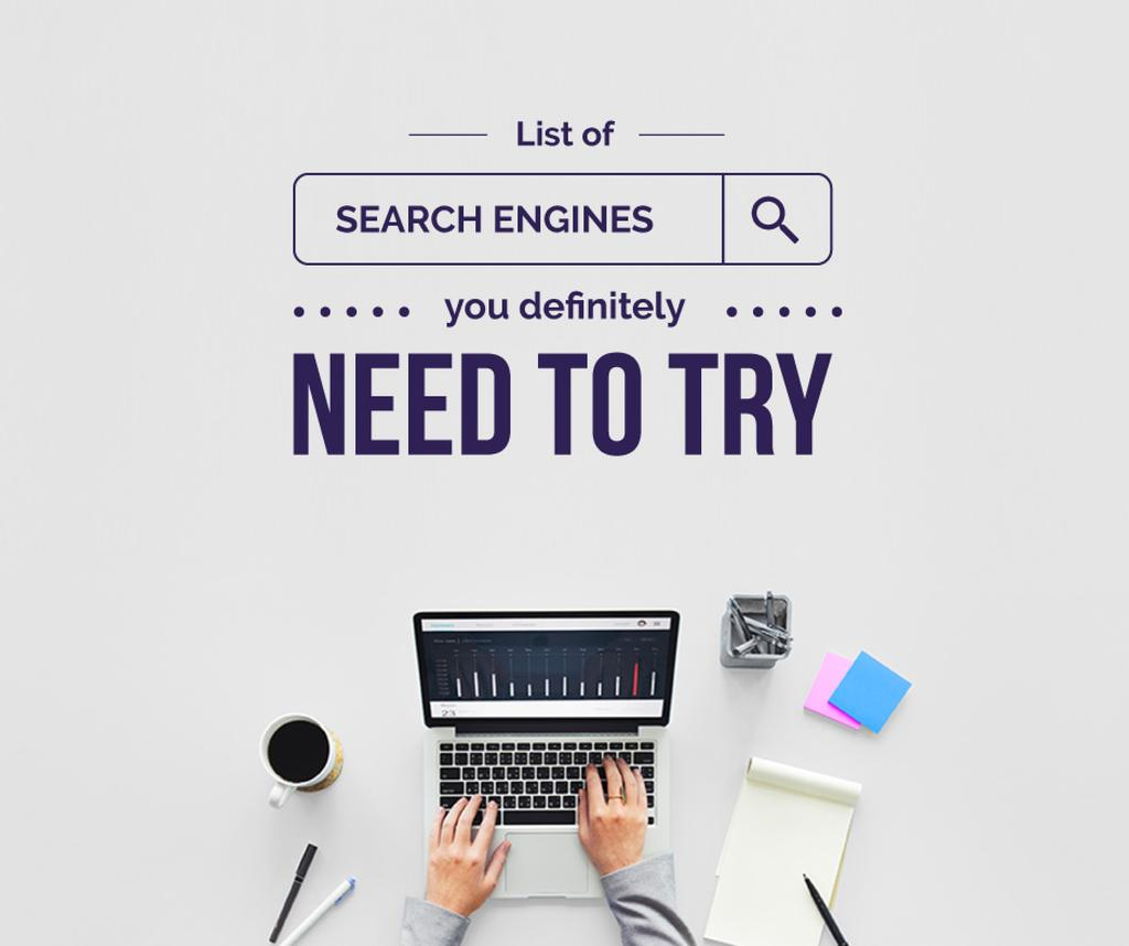 Search engines poster — Create a Design