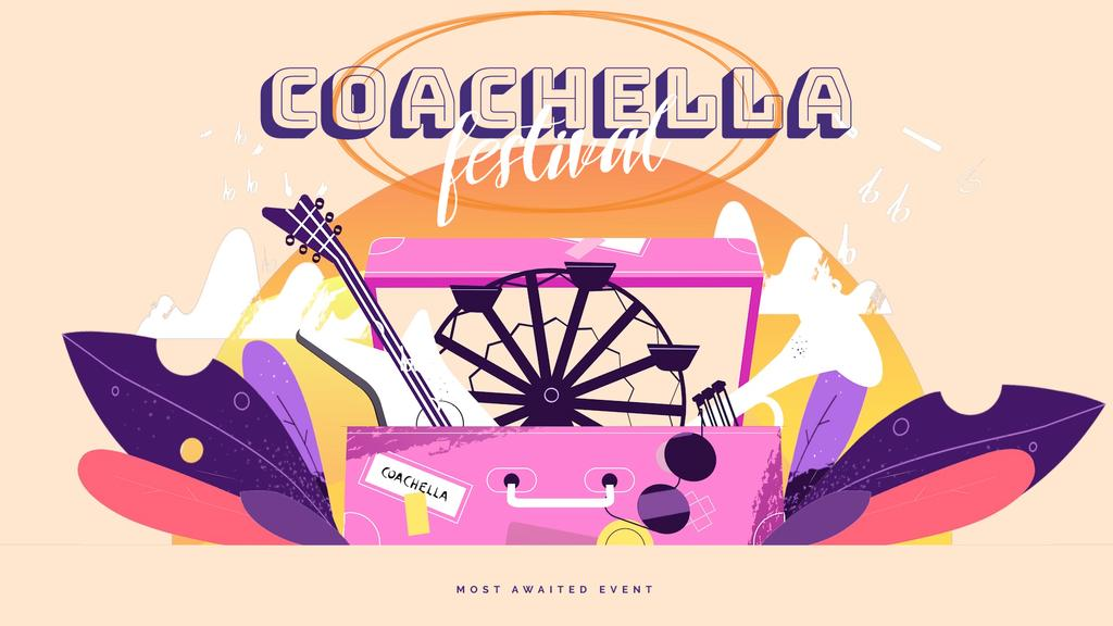Coachella festival attributes — Create a Design