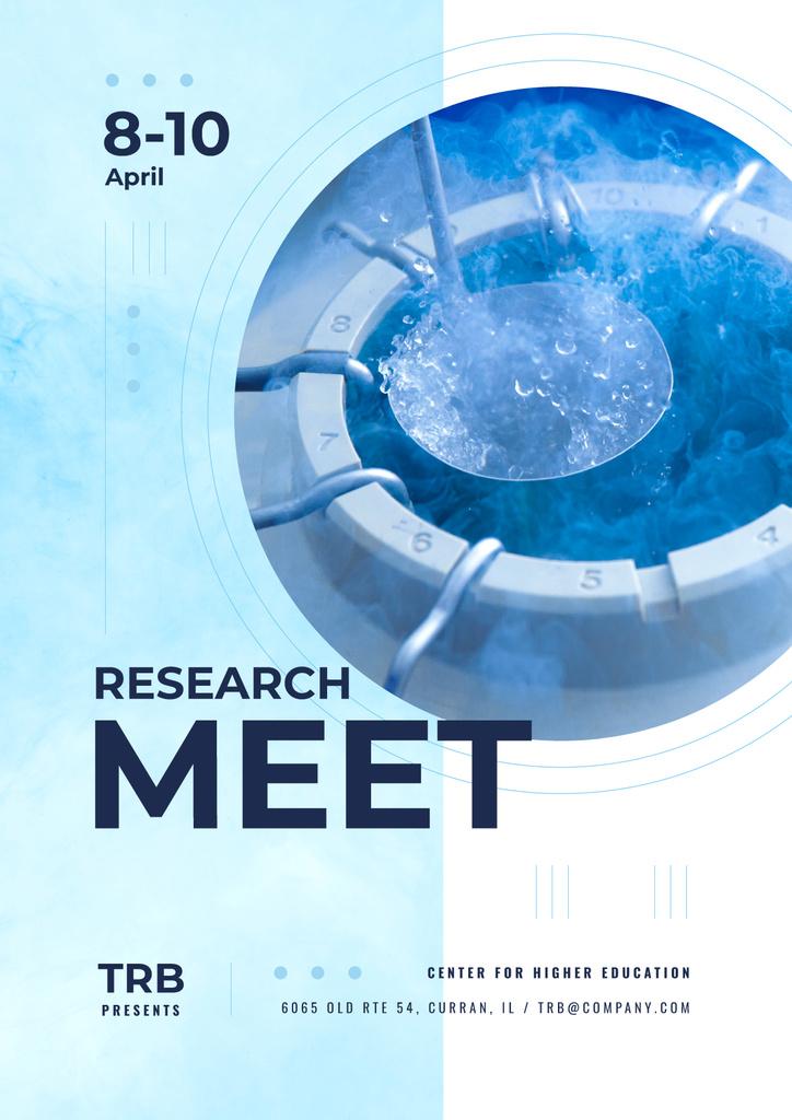 Equipment in scientific laboratory — Создать дизайн